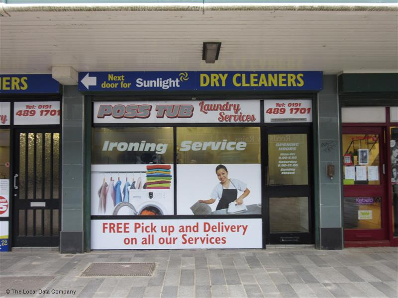 Poss Tub Laundry & South Tyneside Community Laundry | 5 - 7 St Johns Precinct, Hebburn NE31 1LG | +44 191 489 1701