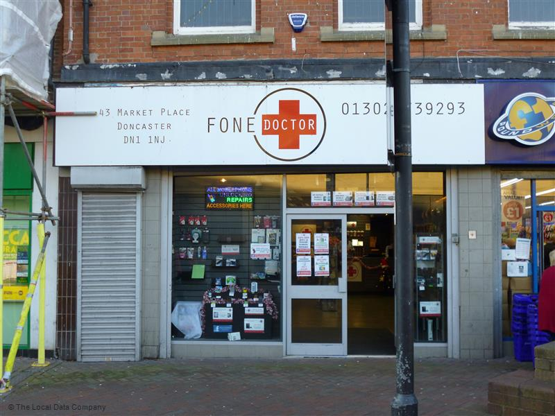 The Fone Doctor | 43 Market Place, Doncaster DN1 1NJ | +44 1302 739293