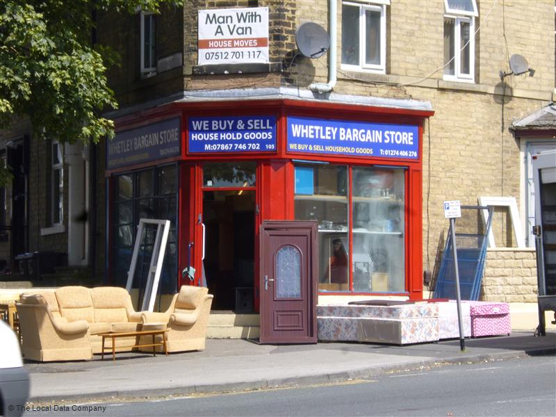 Whetley Bargain Store   105, Whetley Lane, Bradford BD8 9DS   +44 7867 746702