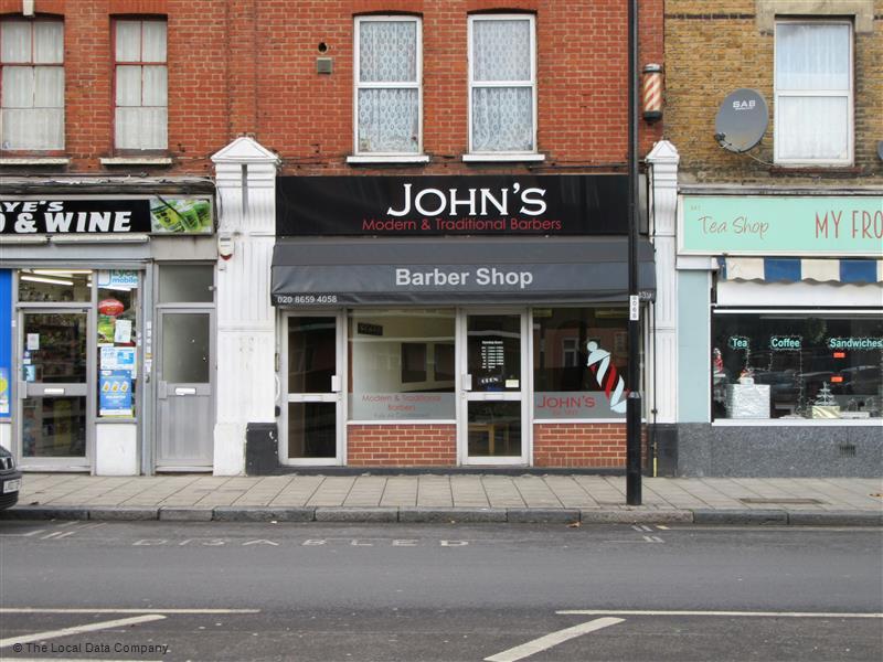 Johns Modern & Traditional Barbers   339 Sydenham Road, London SE26 5SL   +44 20 8659 4058