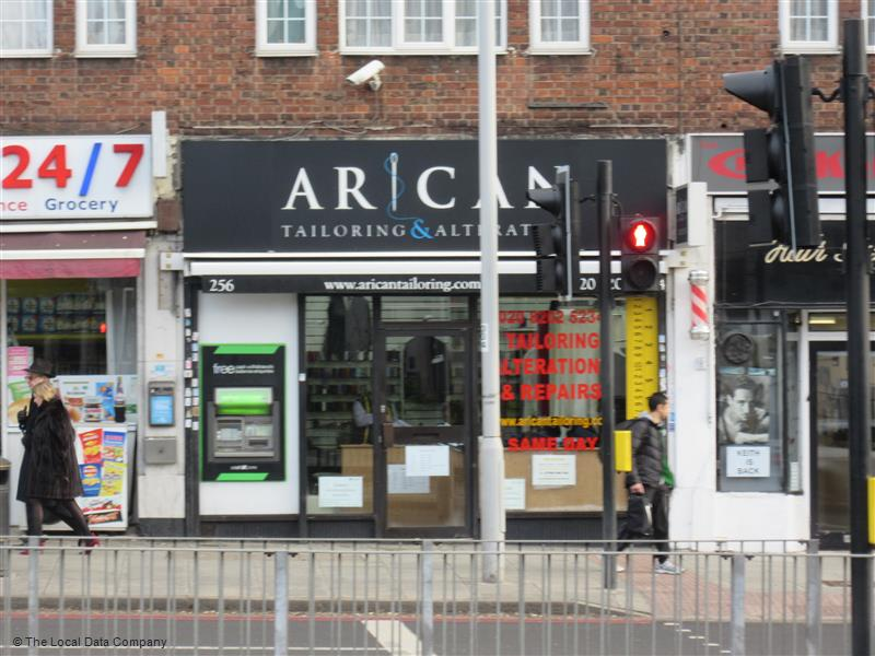 Arican Tailoring & Alterations | 256 Hendon Way, London NW4 3NL | +44 20 8202 5234