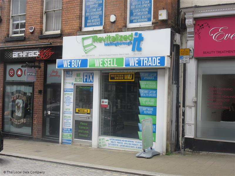 Revitalized Business Solutions   3 Silver St, Wellingborough NN8 1BQ   +44 333 344 4254