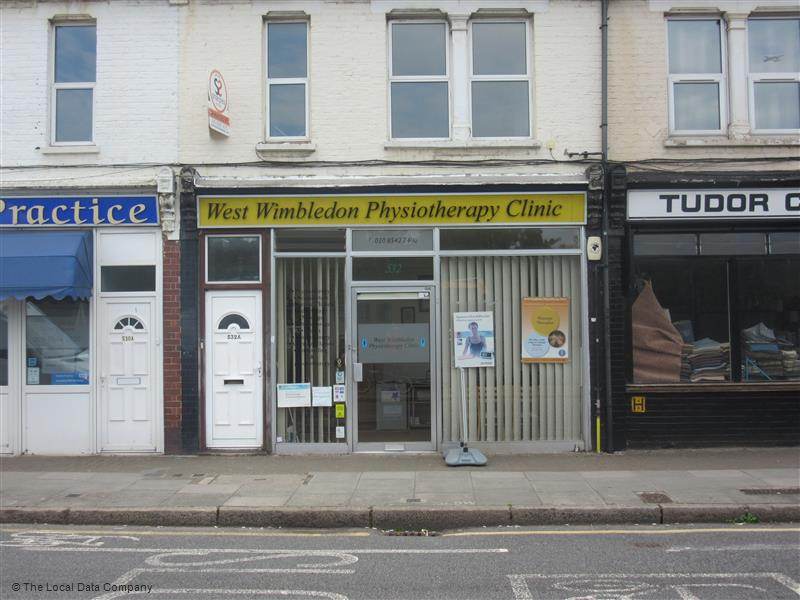 West Wimbledon Physiotherapy Clinic | 532 Kingston Road, Raynes Park SW20 8DT | +44 20 8542 2400