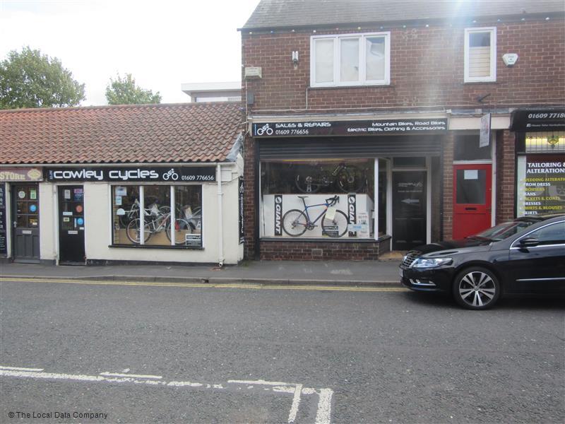 Cowley Cycles   3 Zetland Street, Northallerton DL6 1NA   +44 1609 776656