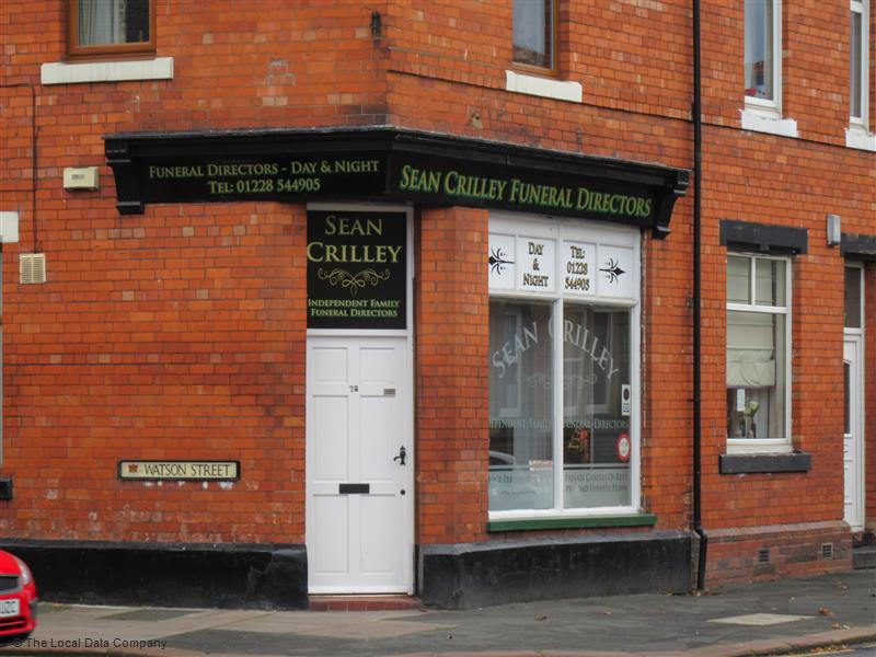 Sean Crilley Independent Family Funeral Directors | 78 Brook St, Carlisle CA1 2HX | +44 1228 544905